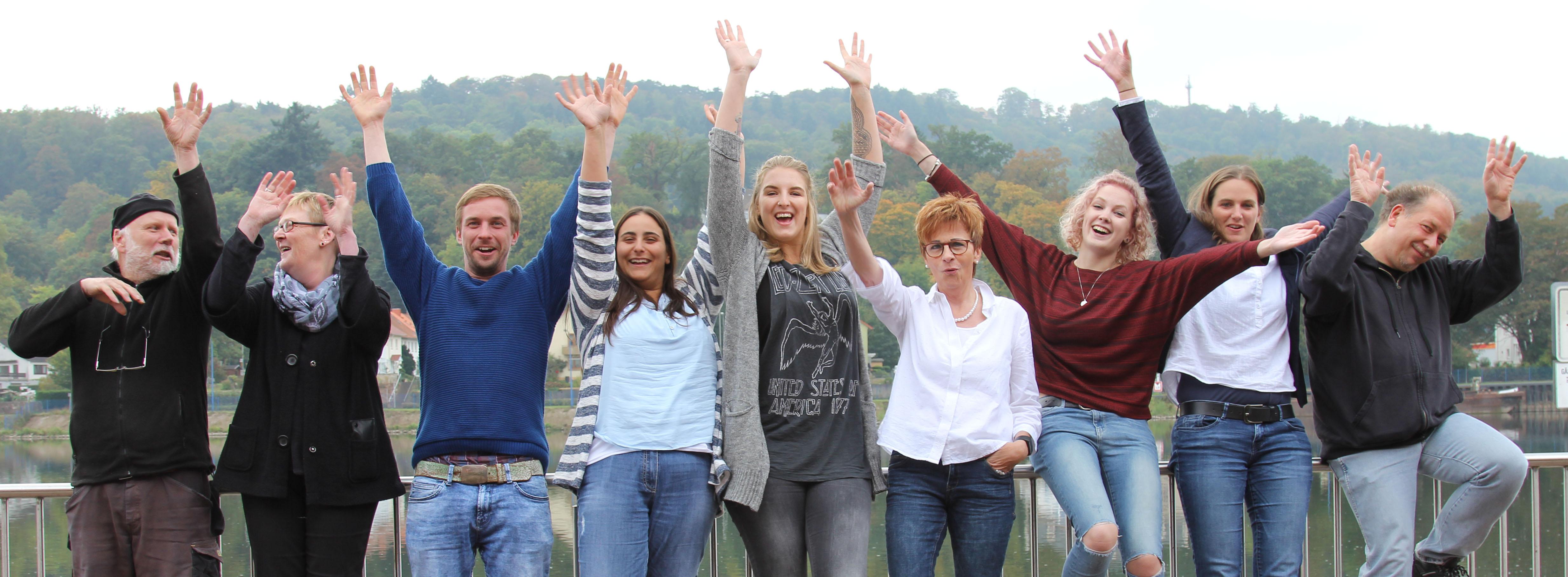 Das Team der Sumpfblume im Oktober 2016